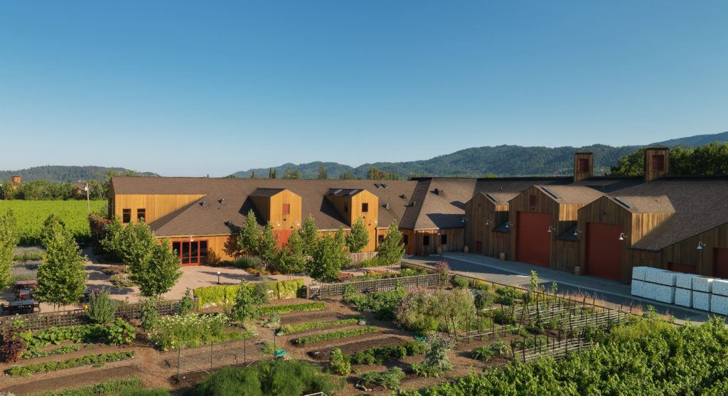 Wright Contracting general contractor has built and expanded Cakebread Cellars in Napa with the highest quality construction.