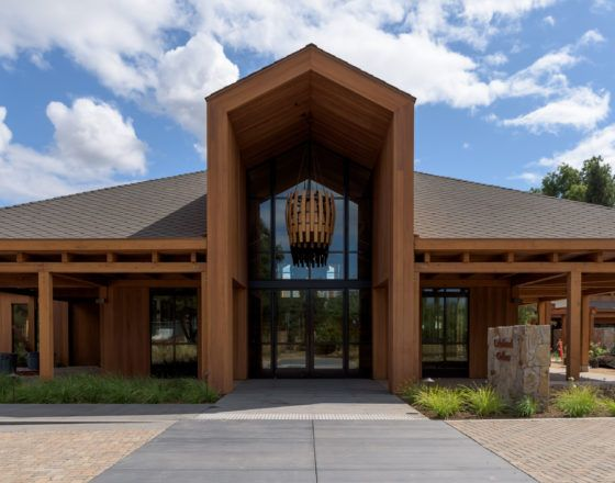 Wright Contracting, general contractor, completed the expansion of Cakebread Cellars' expansion of its hospitality and production facilities in Napa.